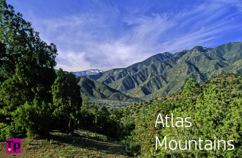 the Atlas Mountains, Morocco.