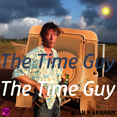 photo of Alan R Graham captioned The Time Guy.
