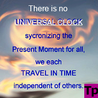 There cannot be a universal clock